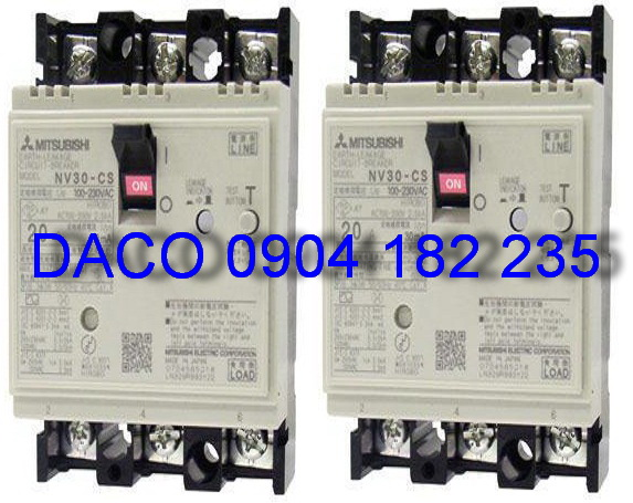 ELCB 3 cực C Series: NV30-CS(HS)-3P