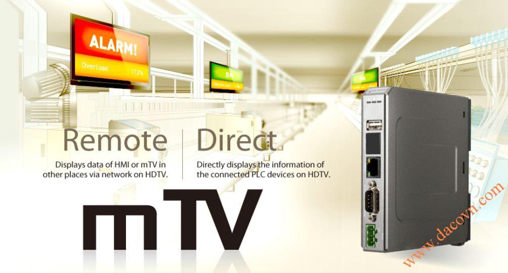 Các ứng dụng của bộ giao tiếp màn hình LCD mTV